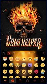 Grim ReaperKika Emoji Keyboard app