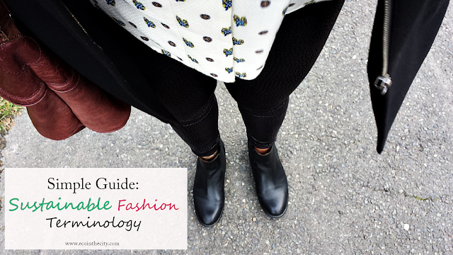 Simple guide to sustainable fashion terminology
