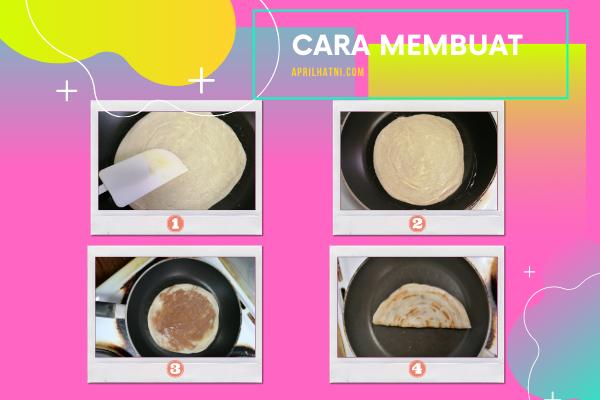 cara membuat paratha nutella