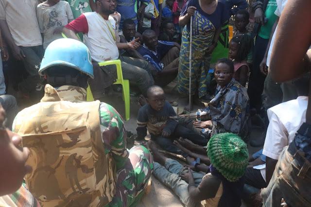 Satgas TNI Konga XXXIX-B RDB Monusco Evakuasi Korban Bandit Bersenjata di  Kongo