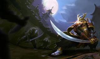 Chinese Samurai Master Yi
