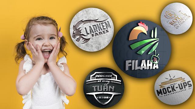 أفضل موكاب الشعارات التي أستخدمها شخصيا Logo Mockups - Free Mockup | Best free Mockups