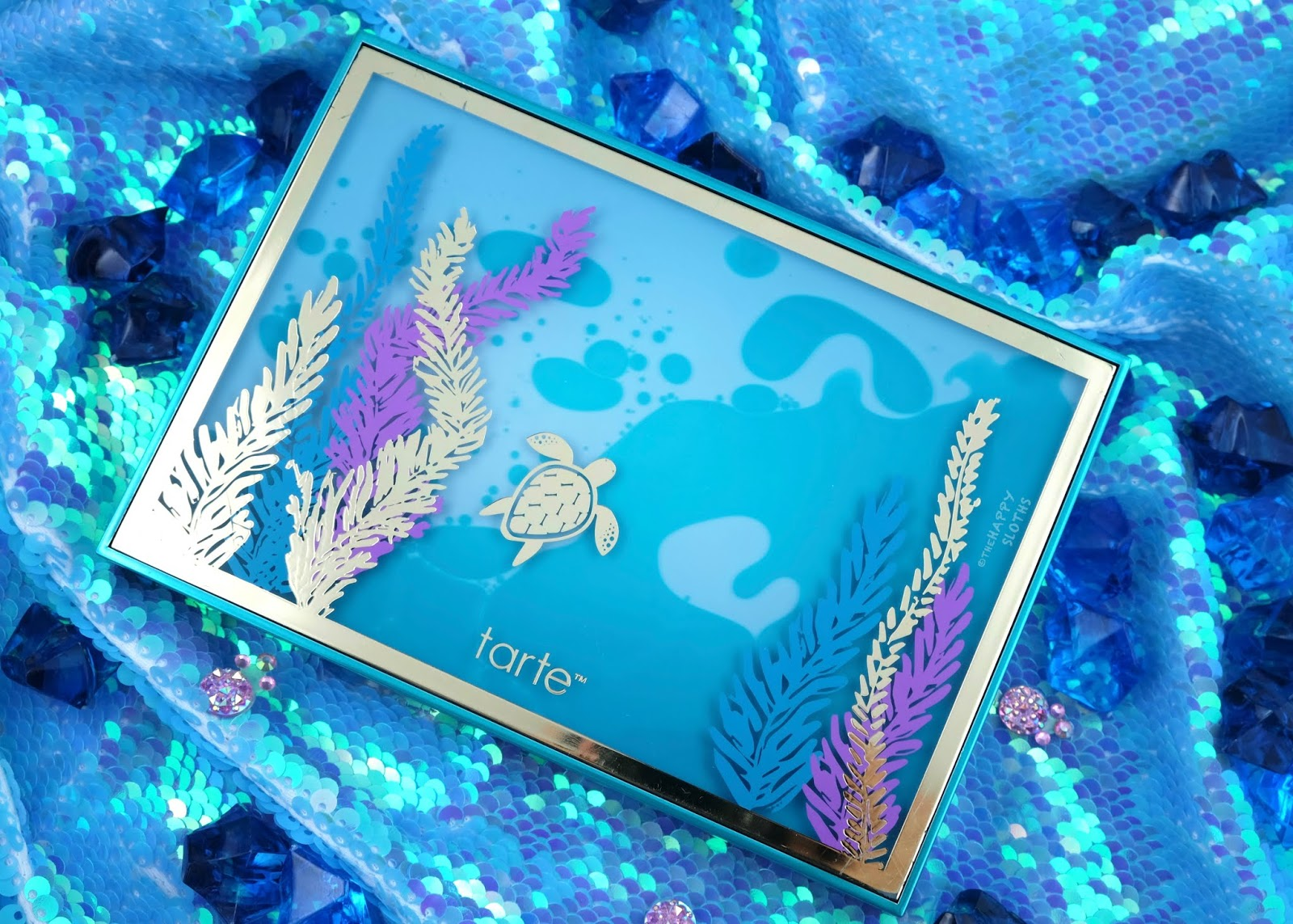 Tarte | Rainforest of the Sea High Tides & Good Vibes Eyeshadow Palette: Review and Swatches