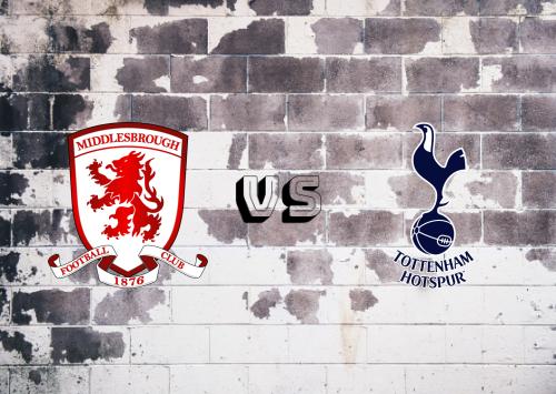 Middlesbrough vs Tottenham Hotspur  Resumen y Partido Completo