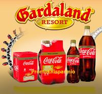 Logo Vinci Gardaland con Coca-Cola senza caffeina: ingresso omaggio come premio certo!