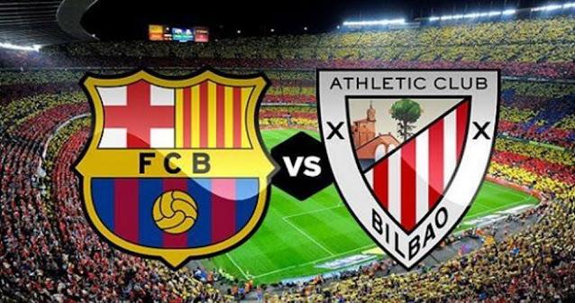 مشاهدة مباراة برشلونة وأتلتيك بلباو اليوم بث مباشر