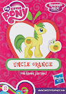 My Little Pony Wave 13B Mosely Orange Blind Bag Card