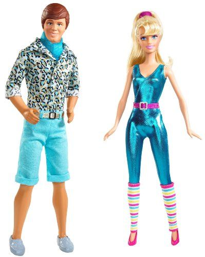 Ken and Barbie from Toy Story 3