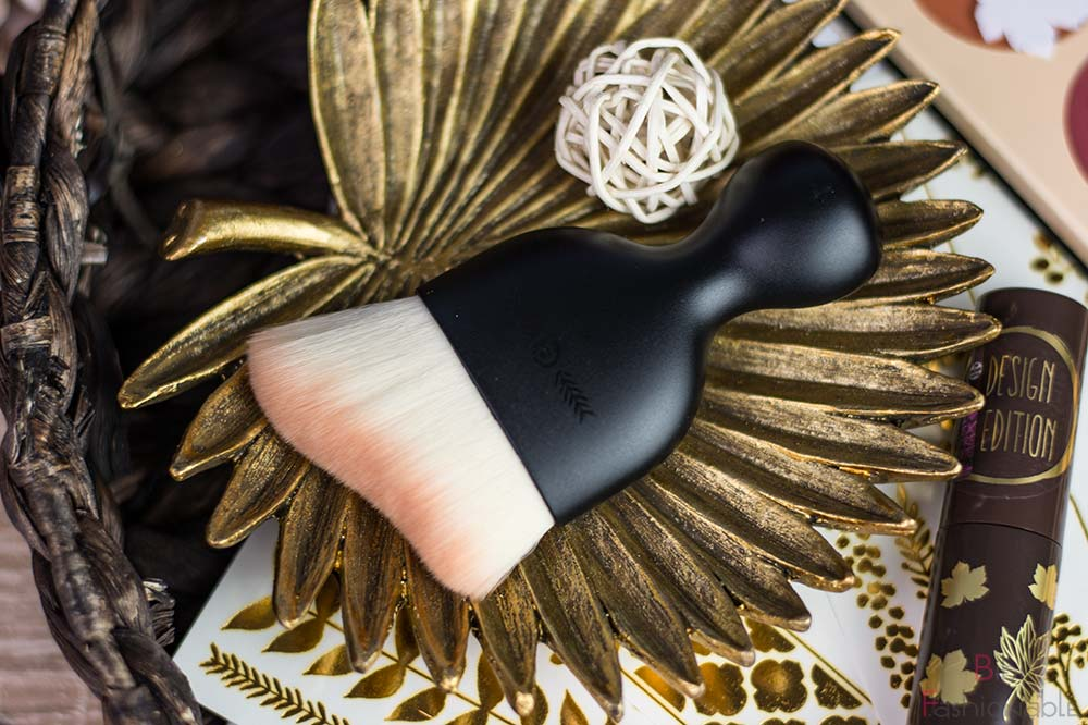 essence fall back to nature highlighter & blush brush