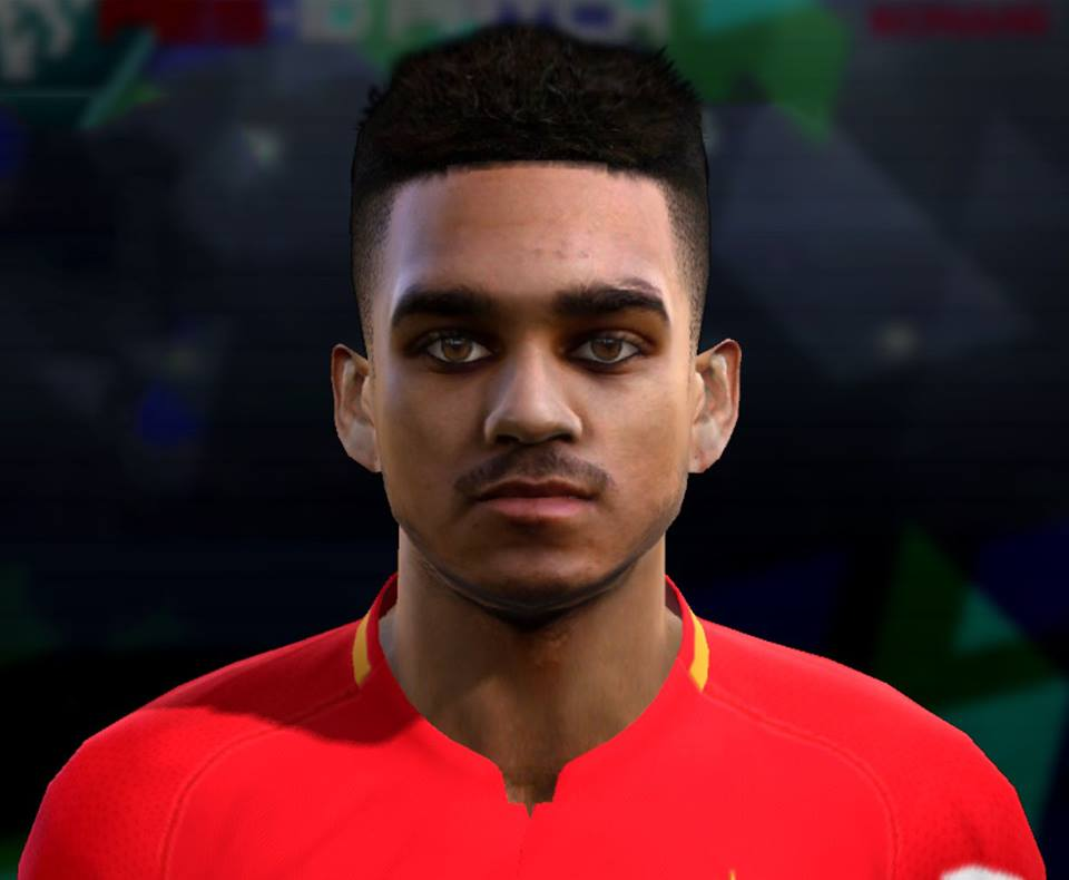 PES 2013 Mboula (AS Monaco) Face by Pablobyk