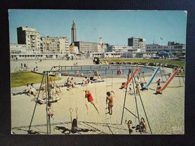 La pataugeoire de la plage du Havre