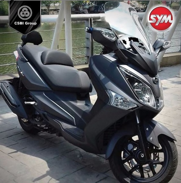 SYM GTS 250i Rp 67 Juta