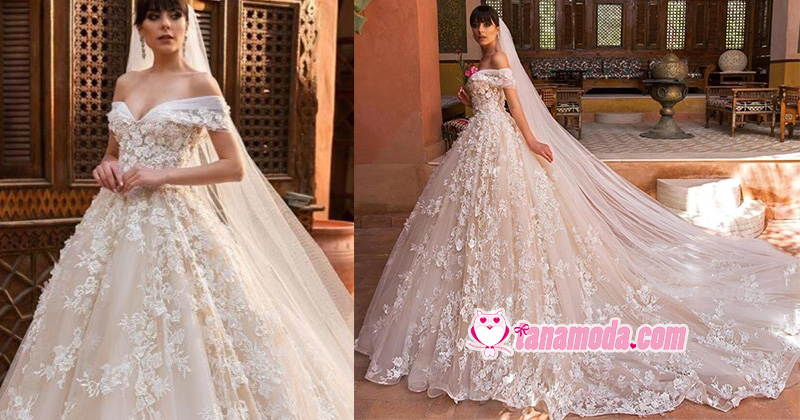 16 Wedding Dresses with Floral Appliques!