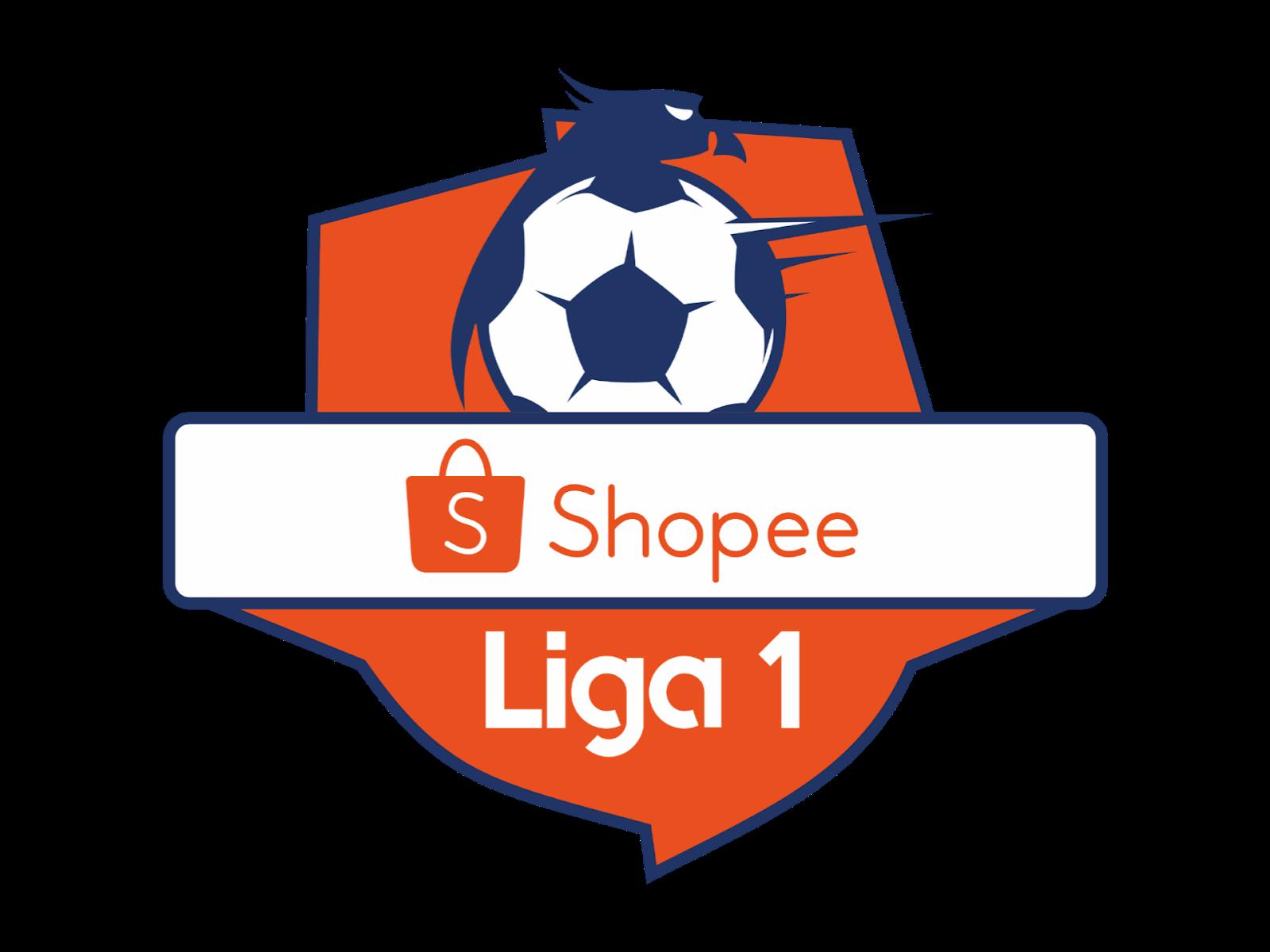 Logo Shopee Liga 1 Format PNG