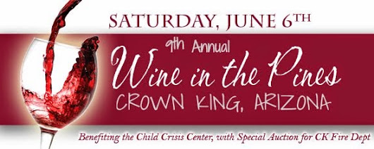 10th Annual Wine in the Pines: June 11, 2016
