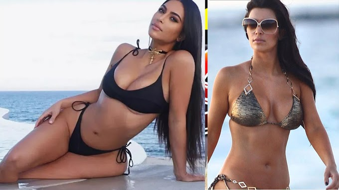 Kim Kardashian on girls trip to Turks and Caicos amid 'imminent divorce' from Kanye West