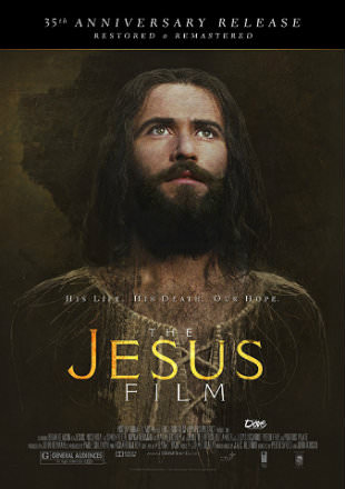 Poster of The Jesus Film 1979 BRRip 720p Dual Audio Hindi English