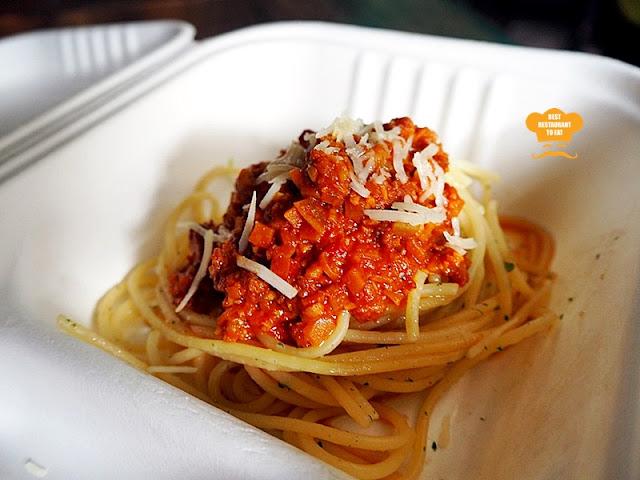 Werner's Deli Menu - Vegetarian Spaghetti Bolognese