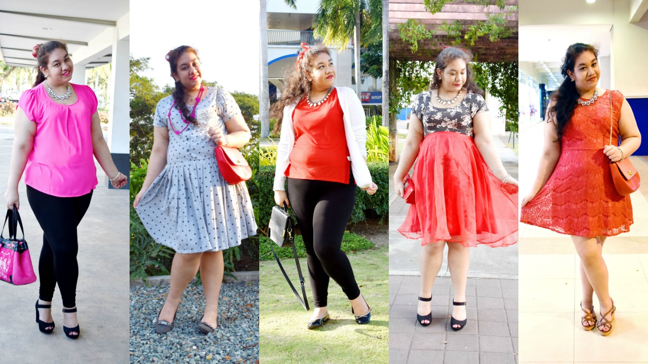 Curvy Valentine's Day Lookbook & Outfit Ideas