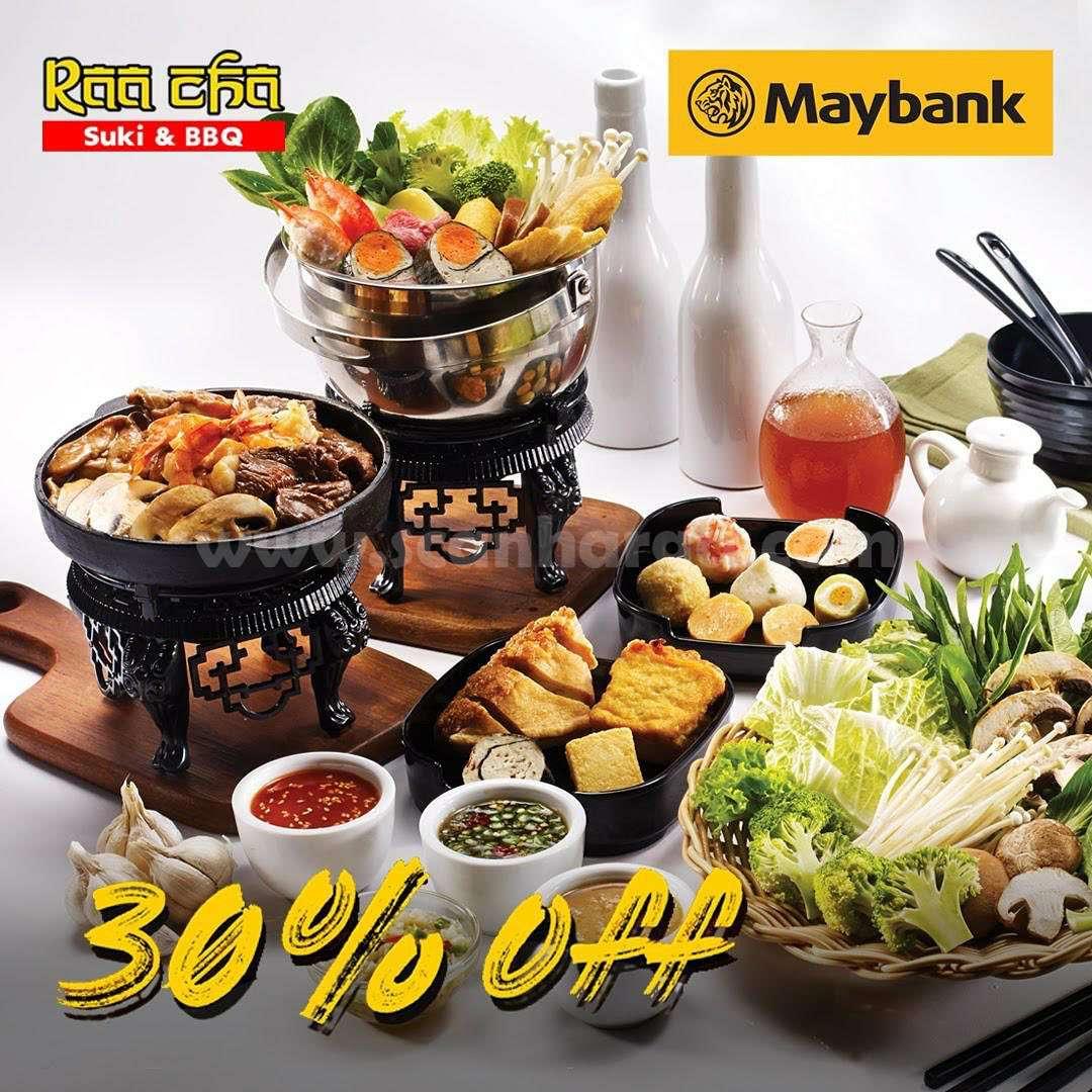 Promo Raa Cha Suki Diskon 30% dengan Kartu Kredit Mybank