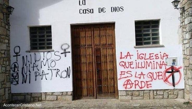 Ataque a iglesia cristiana en España