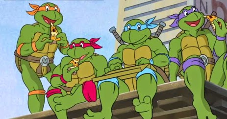 Ainda Sou Do Tempo Das Tartarugas Ninja