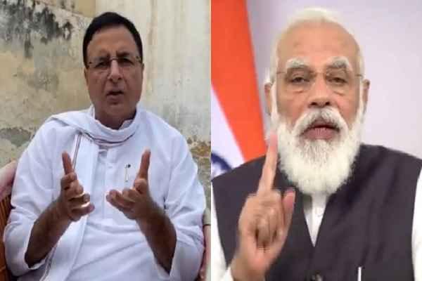 congress-hard-work-modi-sarkar-fraud-work-says-randeep-surjewala