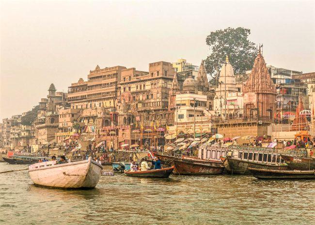 A Morning at the Ghats of Varanasi