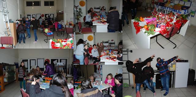 Η χριστουγεννιάτικη γιορτή του Λαϊκού Φροντιστηρίου του Εργατικού Κέντρου Θεσπρωτίας