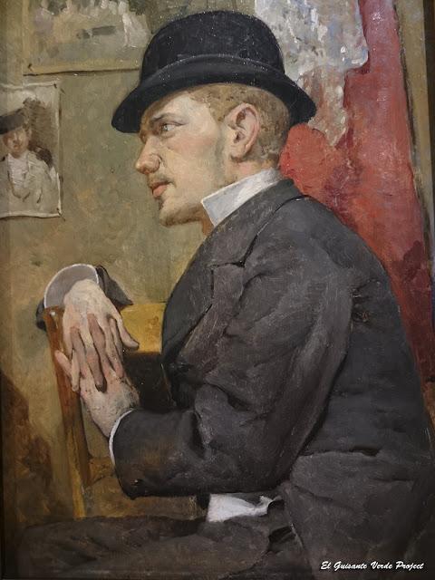 Retrato de Juan Rochelt, Anselmo Guinea - Museo Bilbao por EGVP