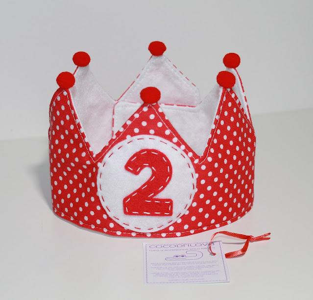 corona de cumpleaños peppa pig 2 años
