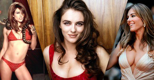 Elizabeth Hurley es la sensual Chica Retro de la Semana