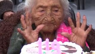 Η γηραιότερη γυναίκα του κόσμου είναι από τη Βολιβία και έκλεισε τα 118!