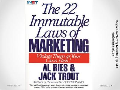 22 Quy Luật Bất Biến Trong Marketing - Al Ries, Jack Trout