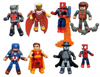 Walgreens Exclusive Marvel Animated Universe Minimates Series 3