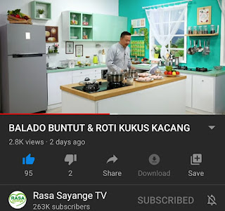 Chanel Rasa Sayange TV