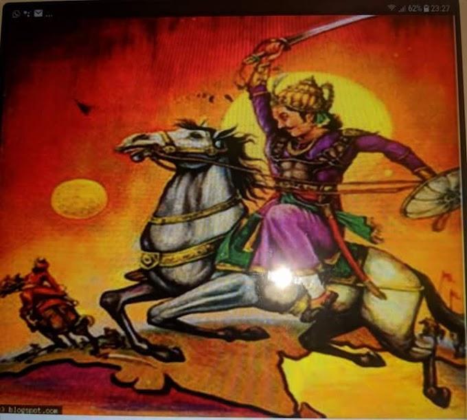 चक्रवर्ती सम्राट चंद्रगुप्त विक्रमादित्य और उनके नौ रत्न---!