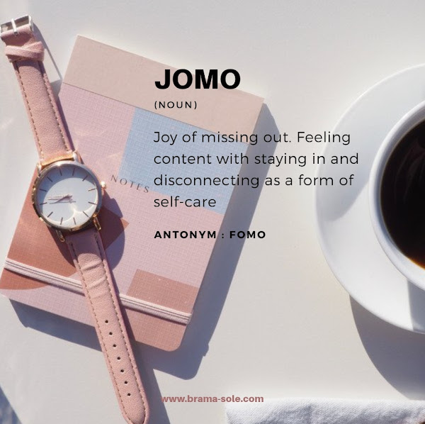 Quote about JOMO