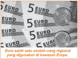 Jenis Uang Berdasarkan Kawasan - uang regional euro bagi negara eropa