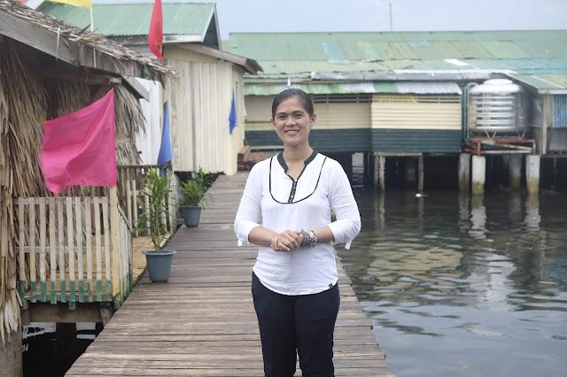 Teacher Sherlaine Tubat
