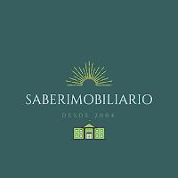 Logomarca na cor verde escuro do site saberimobiliario que ilustra a página que contém todas os links para as postagens publicadas pelo site.