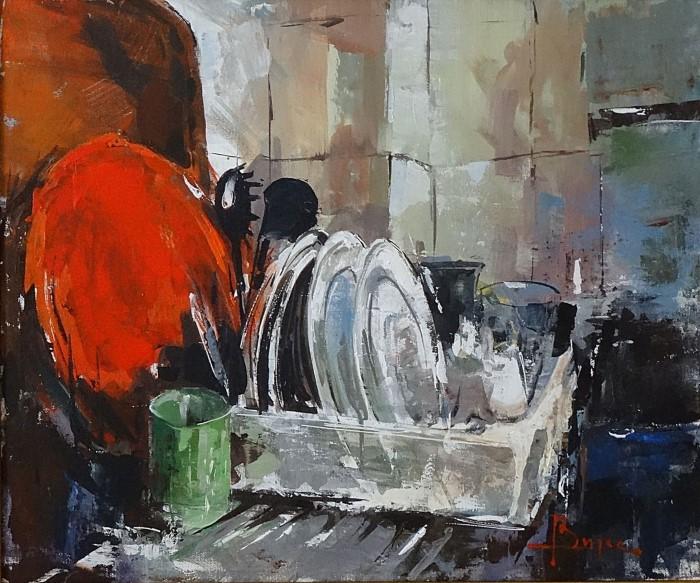 Румынский художник. Ovidiu Buzec