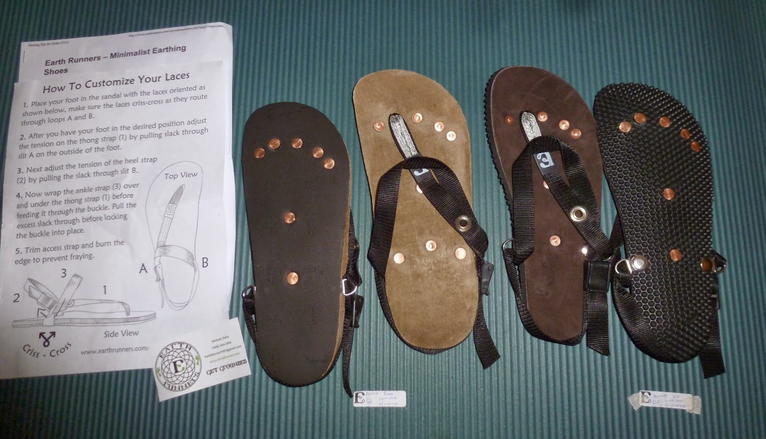 Anita S Health Blog Earth Runners Earthing Sandals