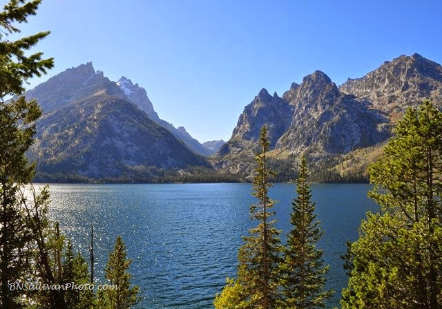 Jenny Lake in Grand Teton National Park, Wyoming