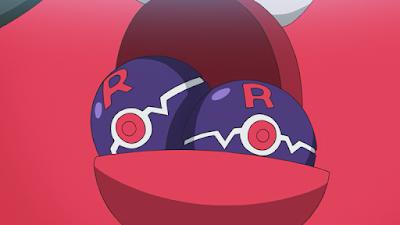 Poké Bola da Máquina de Prêmios da Equipe Rocket