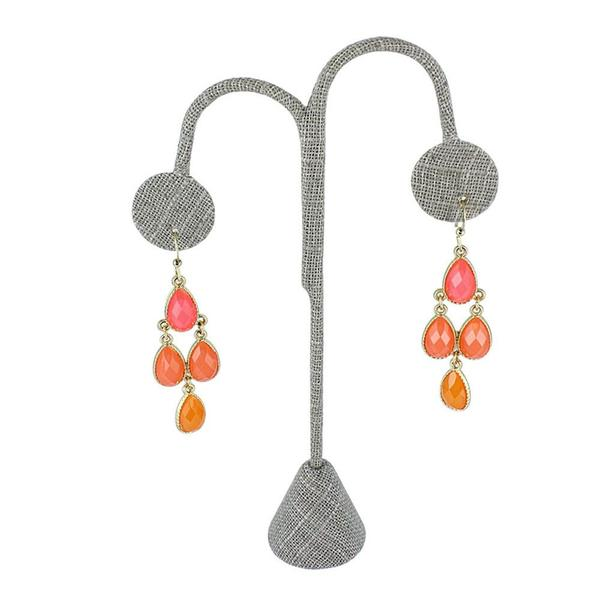 Shop for linen earring jewelry display.