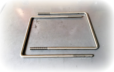 Custom/special 5/16 coarse thread 304 stainless steel square U bolts - Engineered Source is a supplier and distributor of custom stainless steel square u-bolts - covering Santa Ana, Orange County, Los Angeles, Inland Empire, San Diego, California, USA, and Mexico
