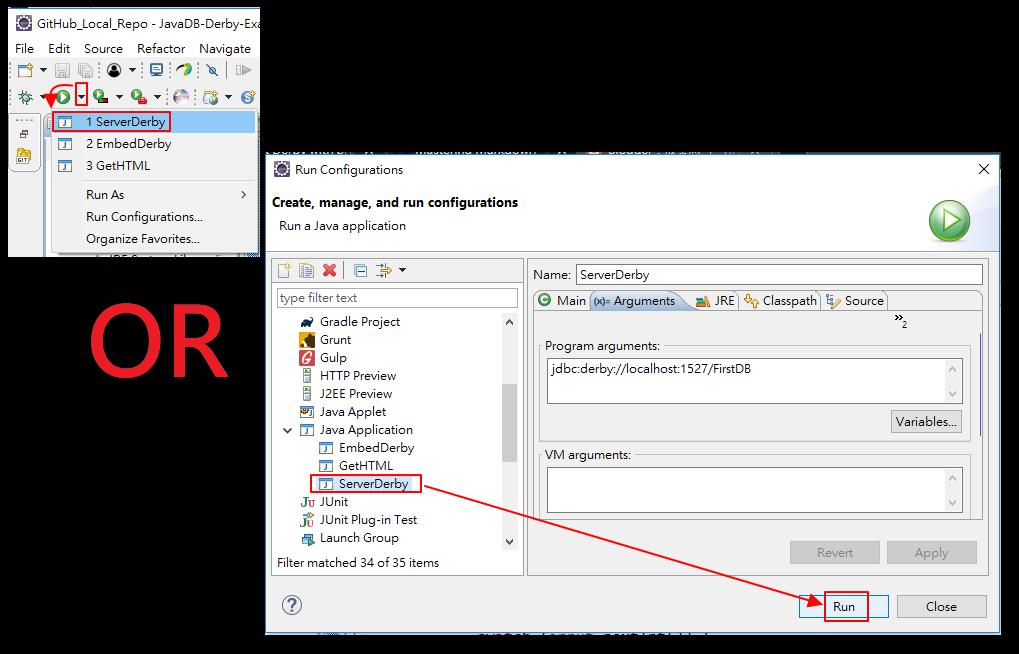 放棄思考: Eclipse 上使用Java DB ( Apache Derby ) (PART 3 / 3 )