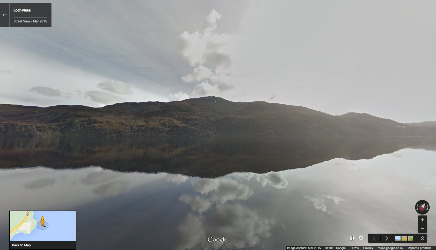 official google blog myth or monster explore loch ness with