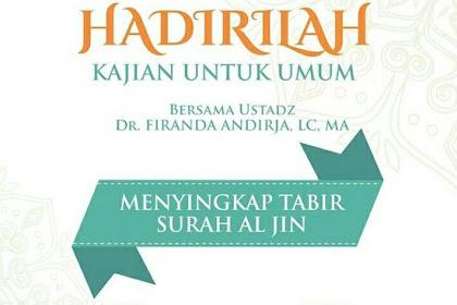 Info Kajian Islami Kamis 20 Juni